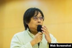 台灣華人民主書院董事會主席曾建元(曾建元臉書圖片)