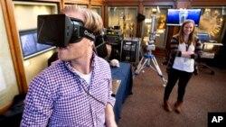 Este programador creó un software para el museo que mediante un visor permite tener una percepción visual de 360 grados.