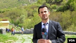 Contributing Reporter for VOA Kurdish, Ahmed Ghafur Hakim.
