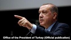 Prezida Recep Tayyip Erdogan wa Turukiya