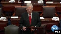 Митч Макконнелл, лидер Республиканцев в Сенате