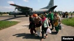 Ảnh tư liệu - Một chiếc máy bay AN-32 của không lực Ấn Độ.
