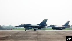 台湾的F-16战机