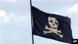 海盜出沒在索馬里。