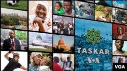 VOA Hausa Taskar logo