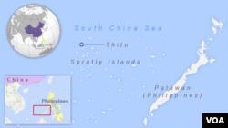 中業島地理位置圖