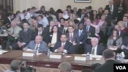 Prisutni u kongresnoj dvorani tokom saslušanje o radikalizaciji muslimanskih zajednica u Americi