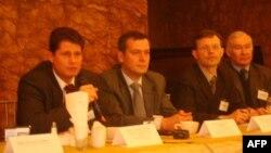 Члены делегации из России
