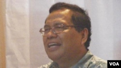 Ekonom Rizal Ramli ikut dukung aksi gerakan sejumlah organisasi pemuda, aktivis dan mahasiswa dalam Majelis Kedaulatan Rakyat Indonesia yang menurut rencana akan digelar taggal 25 Maret mendatang (Foto: dok).