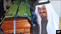 سعودی عرب کے مرحوم ولی عہد سلطان بن عبدالعزیز سپرد خاک