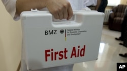 A first aid kit should be kept in every home or office.
