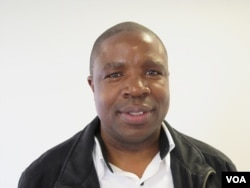 Deprose Muchena, director of Amnesty International's regional office in Johannesburg, South Africa (Sebastian Mhofu/VOA).