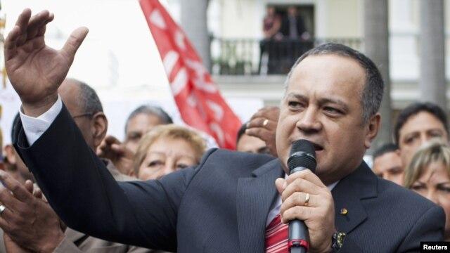 Diosdado Cabello dijo que es su opinión personal y no una posición política.