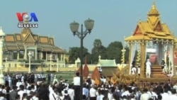 Sihanouk Funeral Procession Starts With One Million Mourners