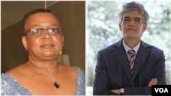 Advogada Lisdália Castilho e analista político Nelson Bonavena