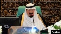 Saudijski kralj Abdulah (arhivski snimak)