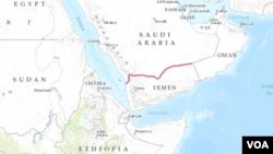 Arábia Saudita, Etiópia, Iémen