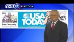 VOA 60: Friday May 18, 2012