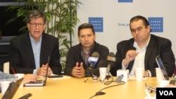Human Rights Watch, cuyo director ejecutivo para las Américas es José Miguel Vivanco (izquierda), discutió en Washington la actual situación de derechos humanos en Venezuela.