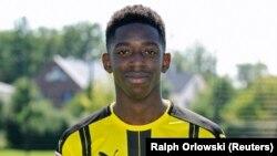 Ousmane Dembélé à Dortmund le 17 août 2016.