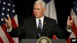 Phó Tổng thống Mỹ Mike pence.