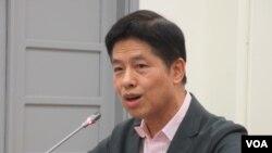 台湾文化大学国家发展与中国大陆研究所教授庞建国