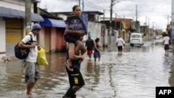 Неводнение в Бразилии