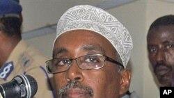 Sharif Hassan Sheikh Adan (file photo)