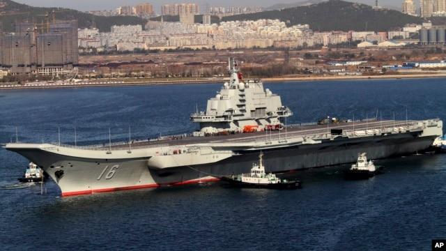 Chuyên gia quân sự Trung Quốc nói cần bố trí tàu sân bay ở Biển Đông vì Bắc Kinh đang đối mặt với nhiều thách thức nghiêm trọng trong khu vực này.