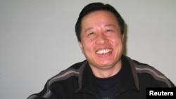FILE - Chinese human rights lawyer Gao Zhisheng is seen in Beijing, 2006.