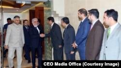 عبدالله برعلاوۀ دیدار با نخست وزیر هند، با رئیس جمهور و وزیر خارجۀ ان کشور نیز دیدار کند