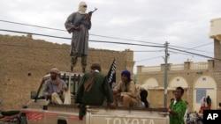 Des jihadistes à Tombouctou, Mali, 12 septembre 2012.