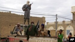 Abagwanyi b'umugwi Ansar Dine, muri Mali