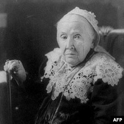 Mrs. Howe was also a leader in the movement to end slavery in America