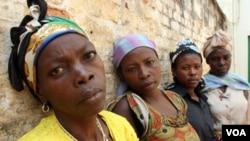 Para korban perkosaan di Republik Demokrasi Kongo (foto: dok). Sekitar 12 persen perempuan Kongo pernah mengalami perkosaan sedikitnya sekali.