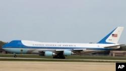 Căn cứ Hỗn hợp Andrews là nơi đỗ máy bay của tổng thống Mỹ.