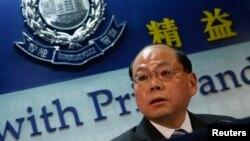 前任香港警務處處長 - 曾偉雄。(資料圖片)
