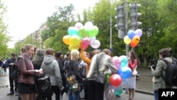 В России «ударили» воздушными шарами по гомофобии