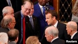 Emmanuel Macron duke u takuar me ligjvënësit amerikanë në Kapitol Hill