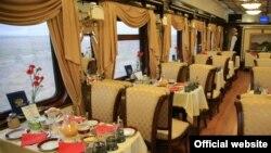 قطار خصوصی دولوکس، خدمات ۵ ستاره ارائه می دهد