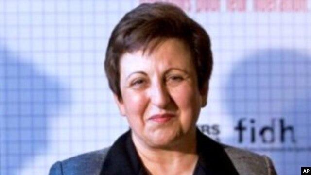 Nobel laureate Shireen Ebadi (file photo)