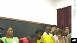 Officials Counting Results of Mozambican Vote