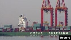 중국 르자오 항에 입항하려던 북한 선박이 입항을 거부당했다고 `로이터 통신'이 지난 8일 보도했다. 중국 산둥성 르자오 항. (자료사진)