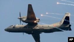 실종된 인도 공군수송기와 같은 기종인 AN-32 (자료사진)