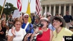 Gradjani SAD danas ispred Vrhovnog suda