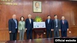 Đài Loan tặng $400,000 USD tiền hỗ trợ nhân đạo cho Việt Nam ứng phó với thiên tai. Photo Courtesy MOFA