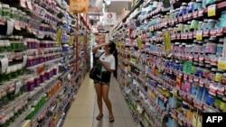 Một người tiêu dùng Trung Quốc.