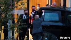جیک سالیوان، مشاور امنیت ملی کاخ سفید در زوریخ، سوئیس.