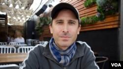 John Huddles, sutradara film 'The Philosophers (After the Dark)' yang mengambil lokasi syuting di Indonesia.