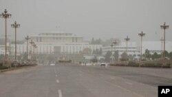 اسلام آباد میں ایوان صدر اور پارلیمنٹ کی عمارتیں